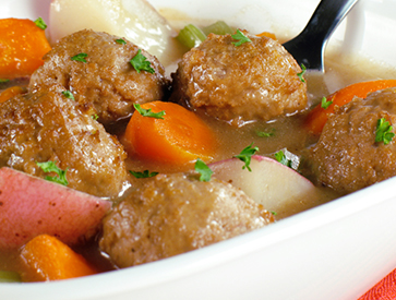 Angus Meatball Stew