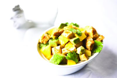 Chicken Mango salad sm